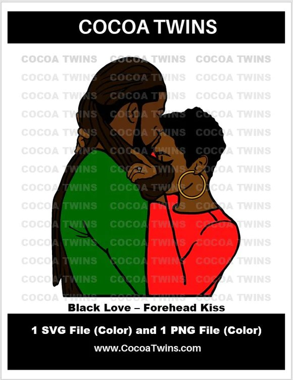 Download Digital Download - Black Love - Forehead Kiss - Cocoa Twins