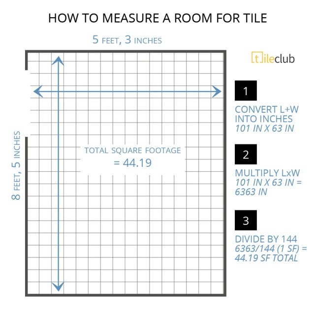 How to Measure a Room for Tile and Calculate Square Footage