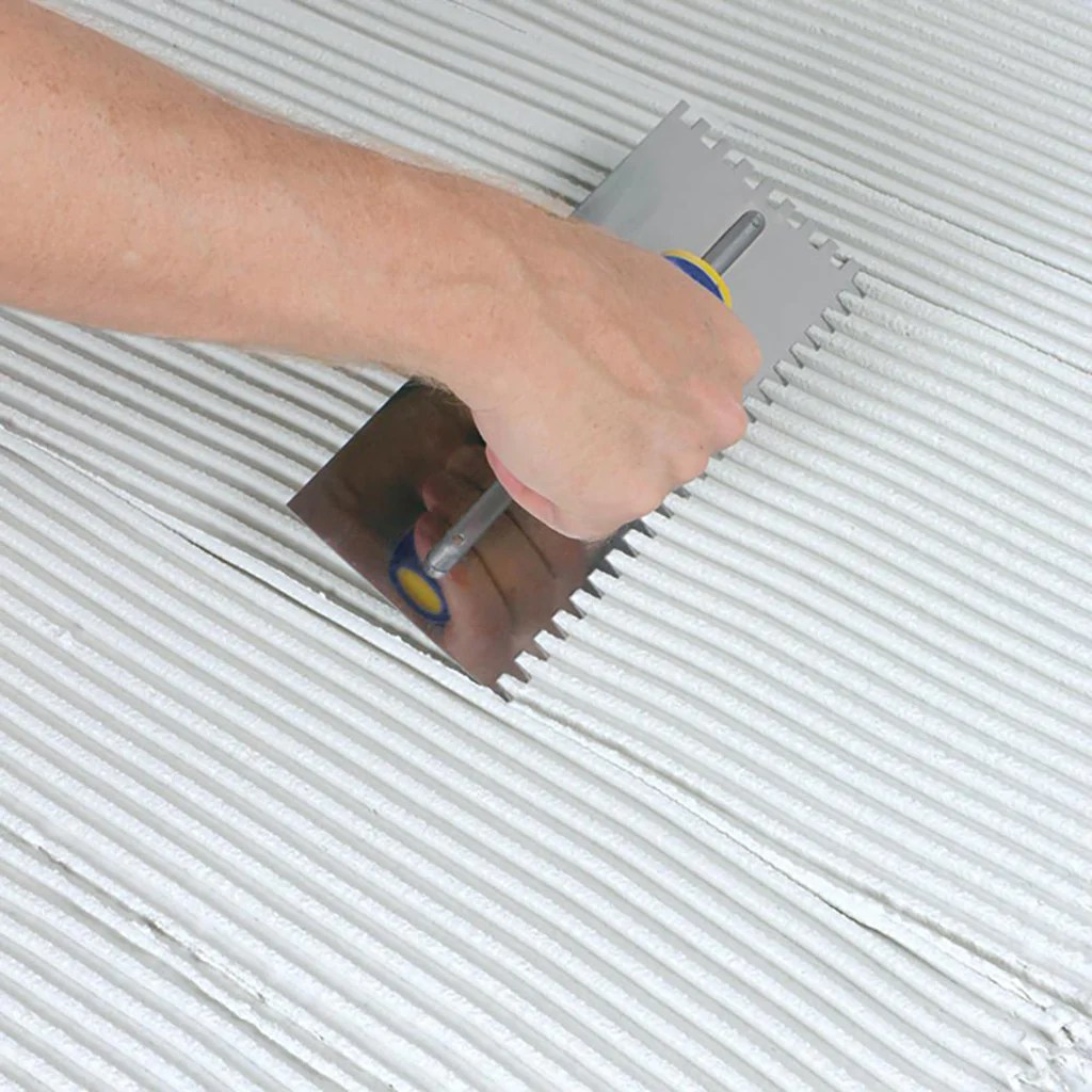 right trowel to install your tile