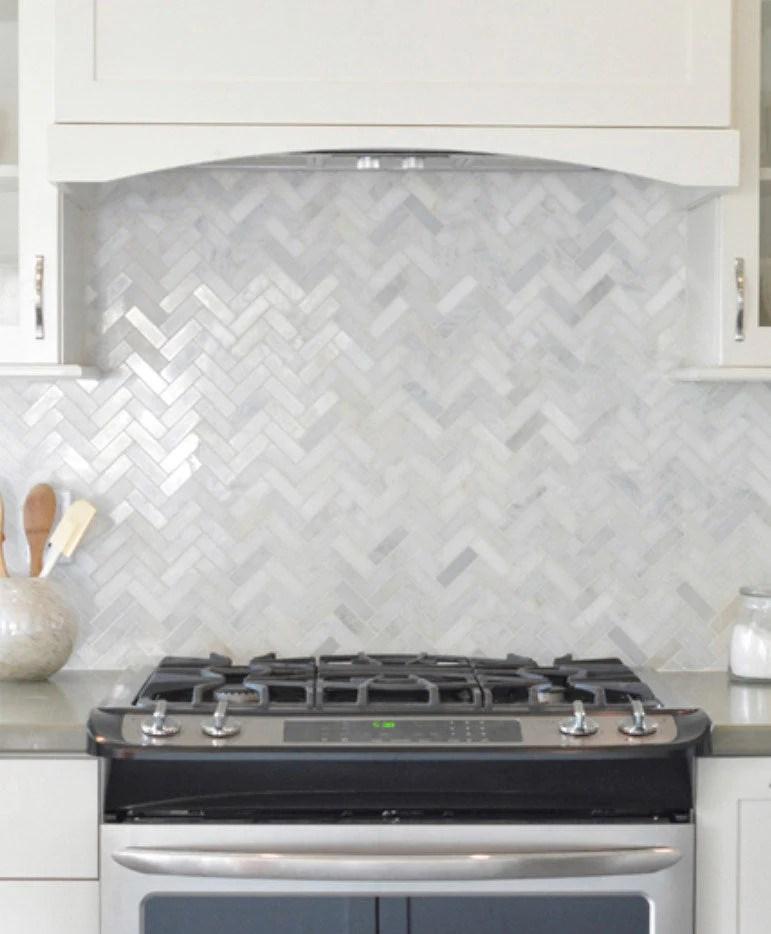white carrara herringbone tile tile club