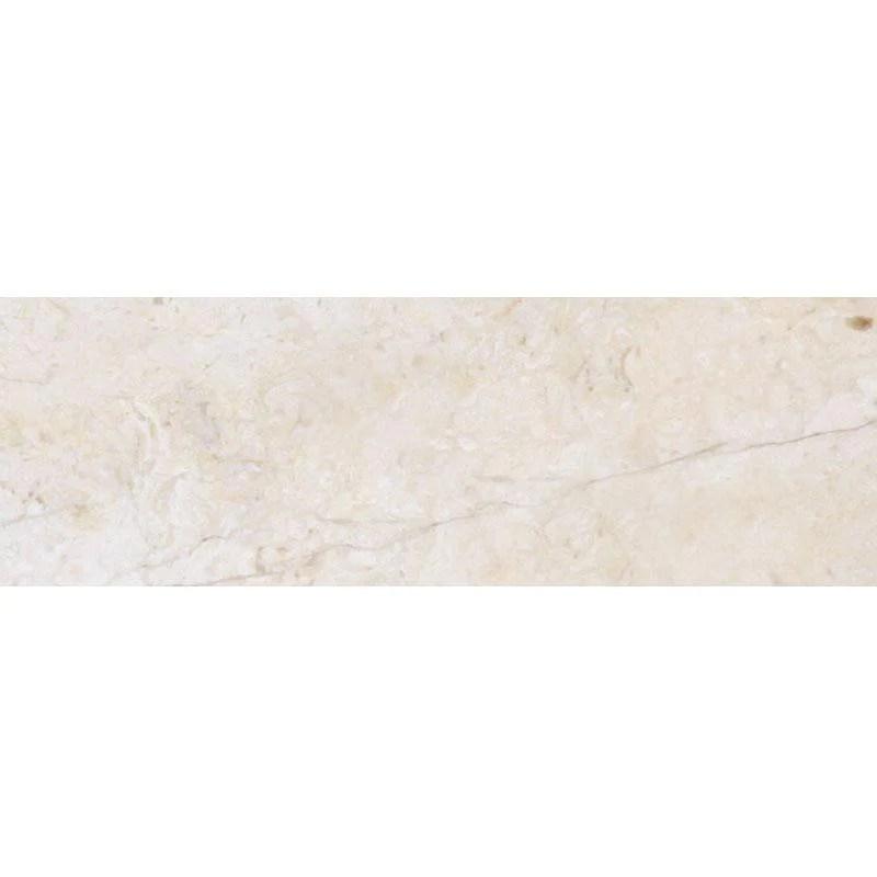 crema marfil 4x12 polished marble tile