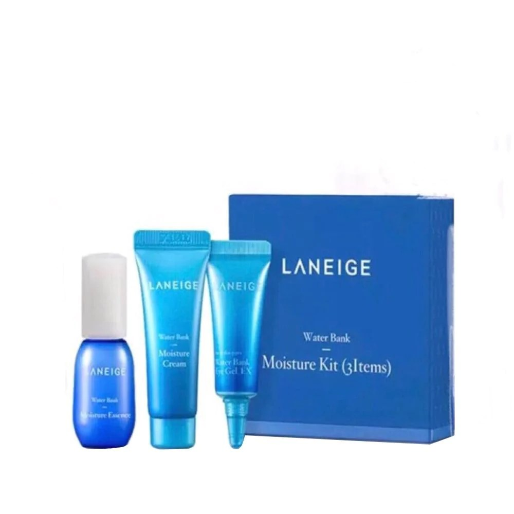 LANEIGE Water Bank Moisture Kit 3pcs – VIIMART
