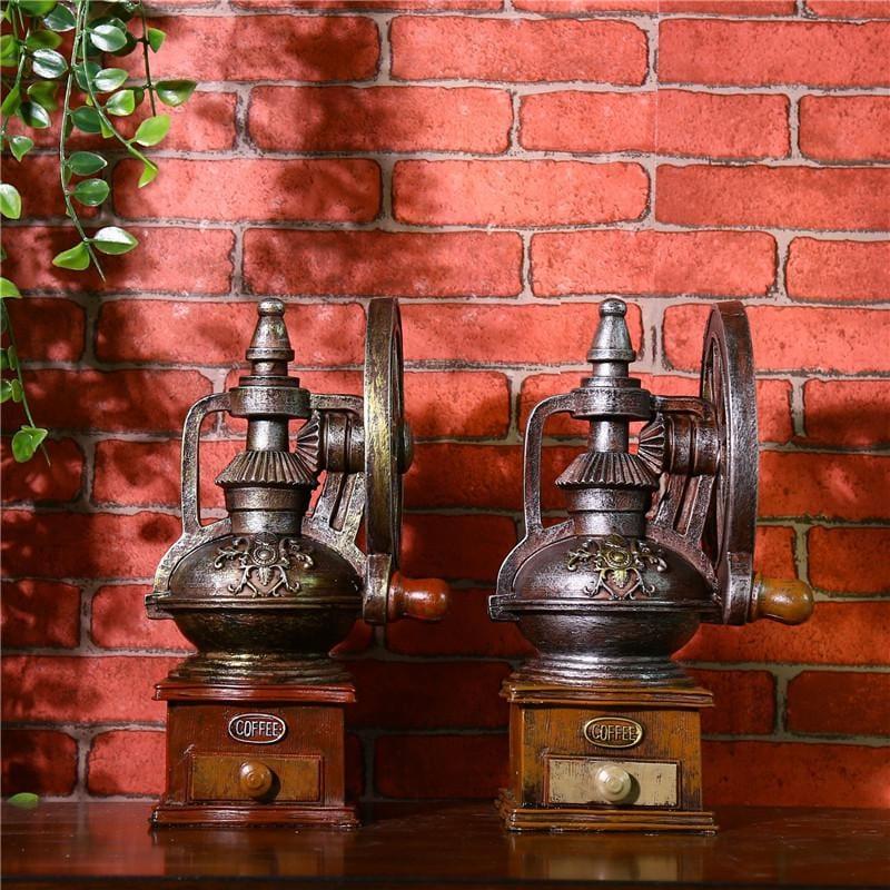 vintage antique coffee grinder craft