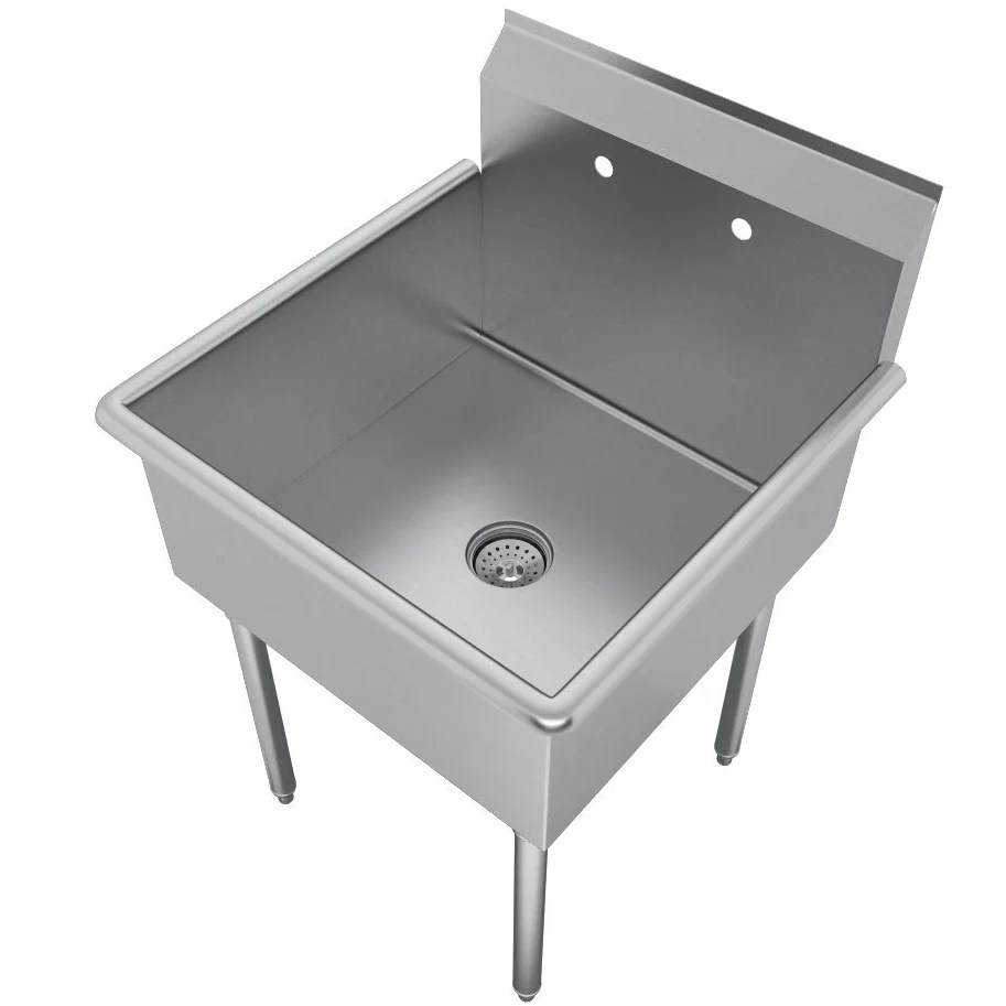 commercial grade stainless steel sink