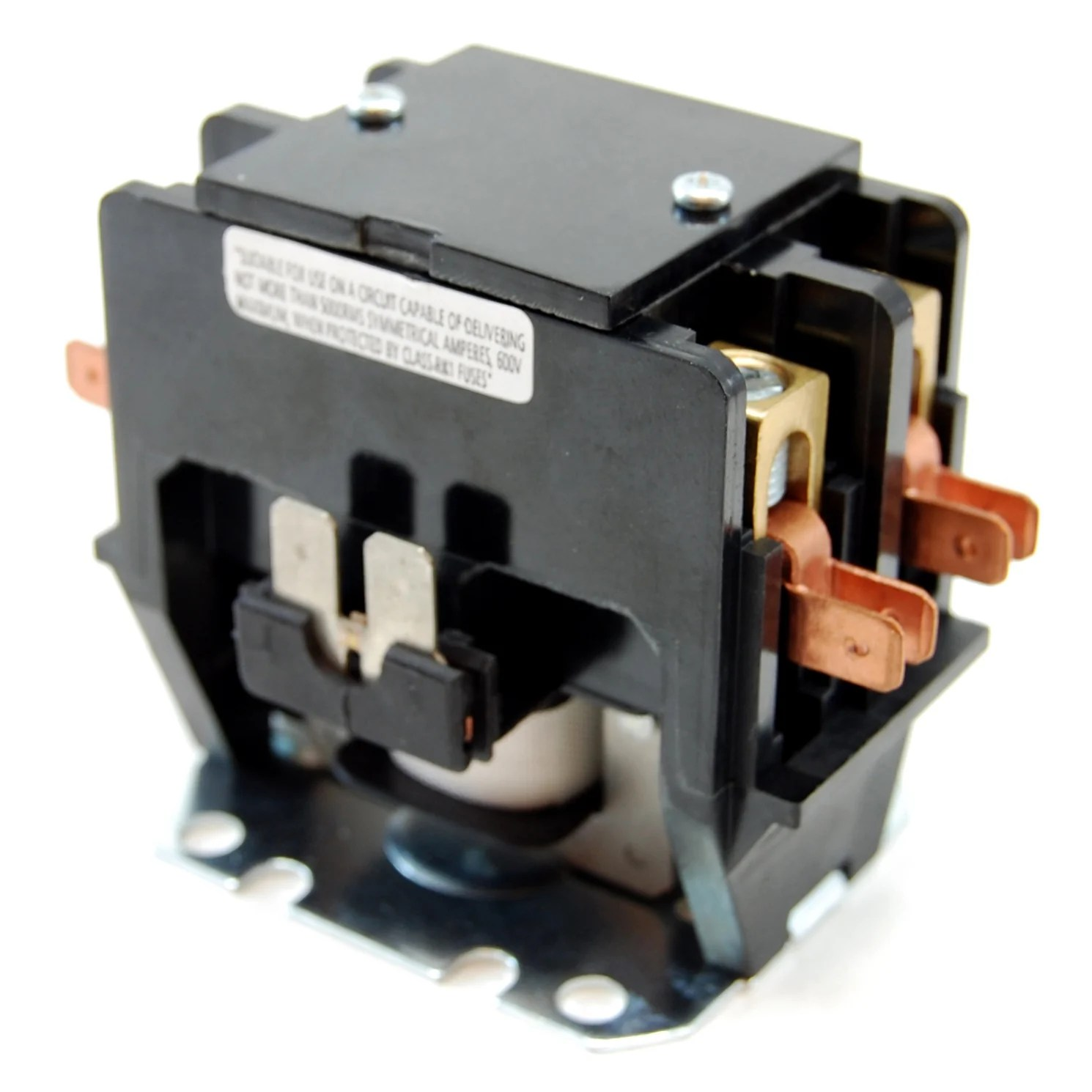 small resolution of 50a 250v dpst contactor 220 240v ac coil