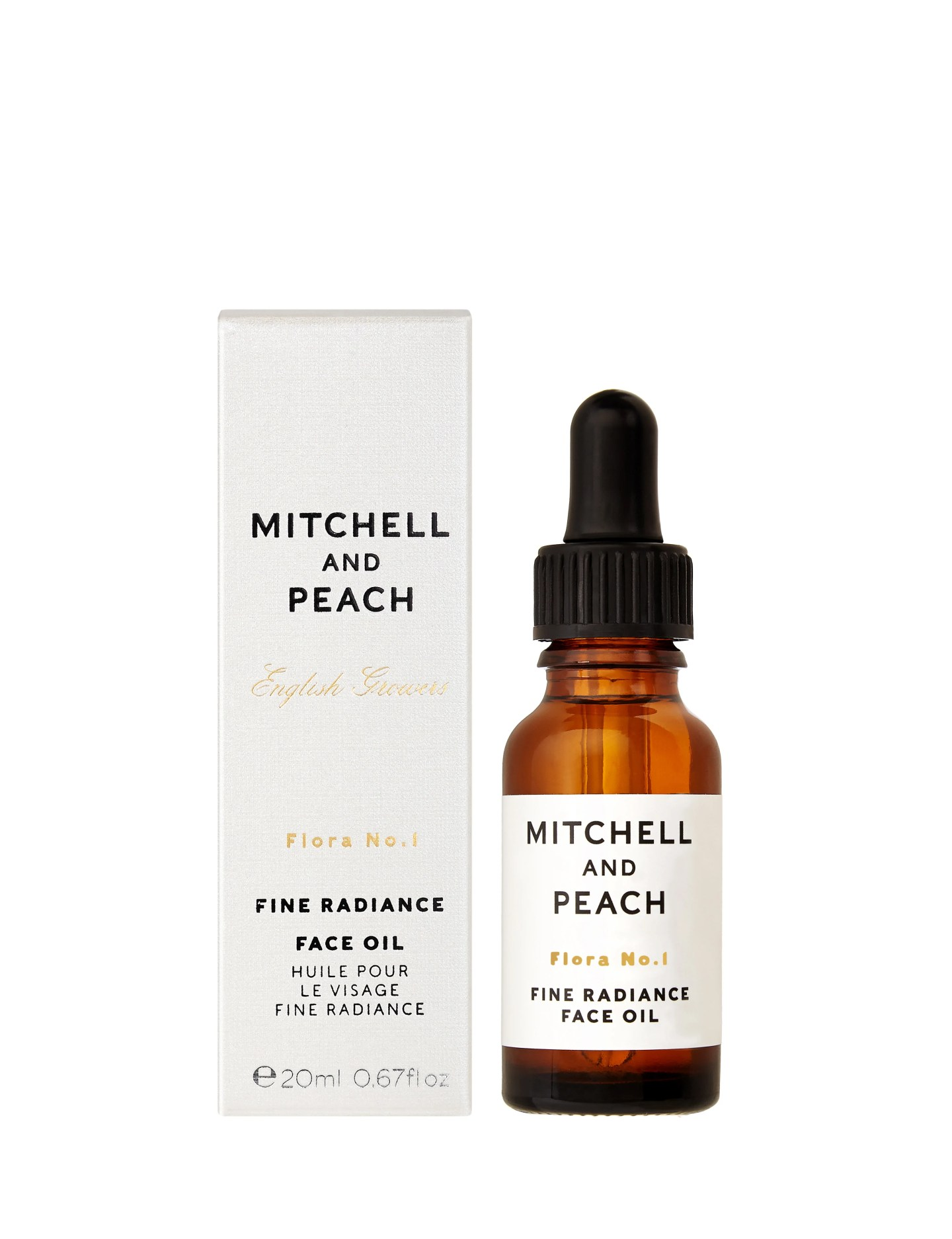 Mitchell and Peach Flora No. 1 Fine Radiance Facial Oil