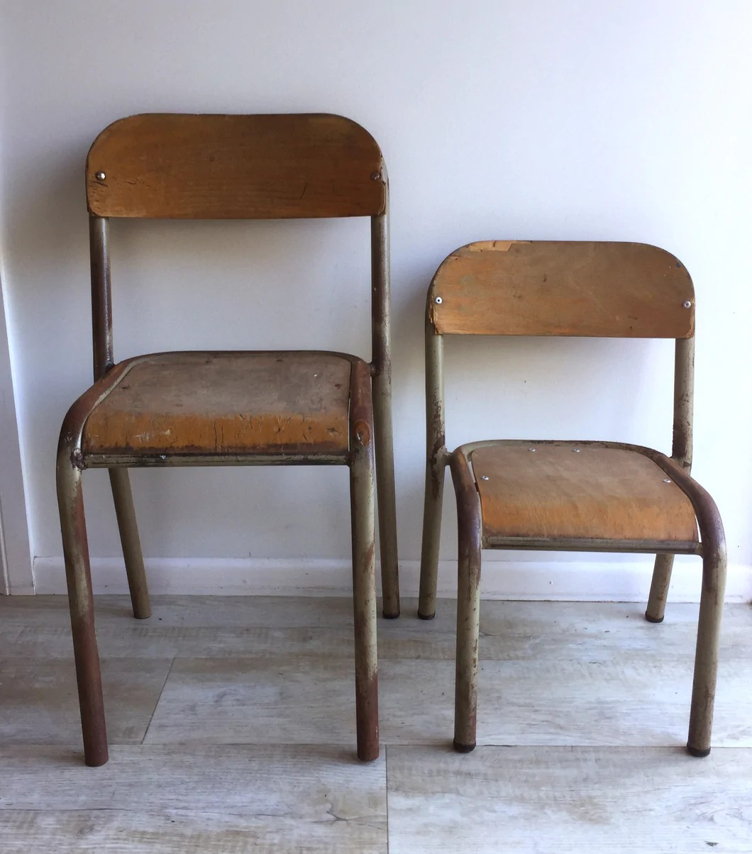 Vintage School Chairs Vintage School Chairs Kids