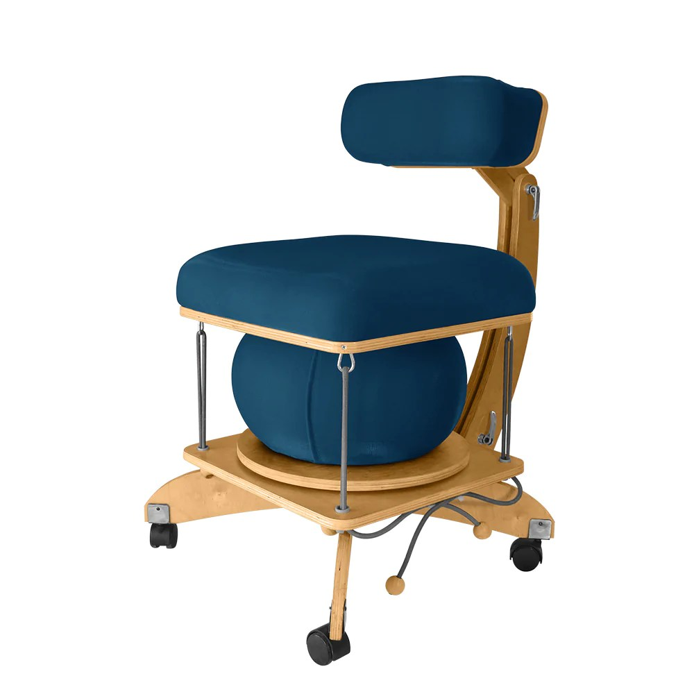 Active Sitting Chair Språng Chair With Birch Active Sitting Reduces Back Pain