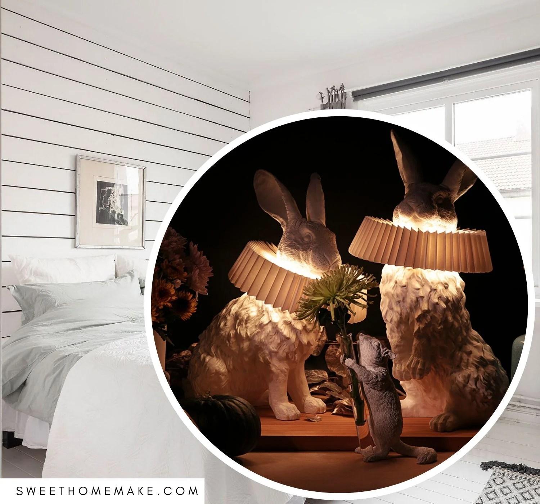 Kanin Lampe Sovevaerelse Inspiration The Sweet Home Make