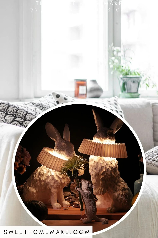 Kanin Lampe Til Sovevaerelse Inspiration The Sweet Home Make