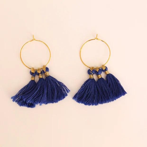 tassel earrings make your