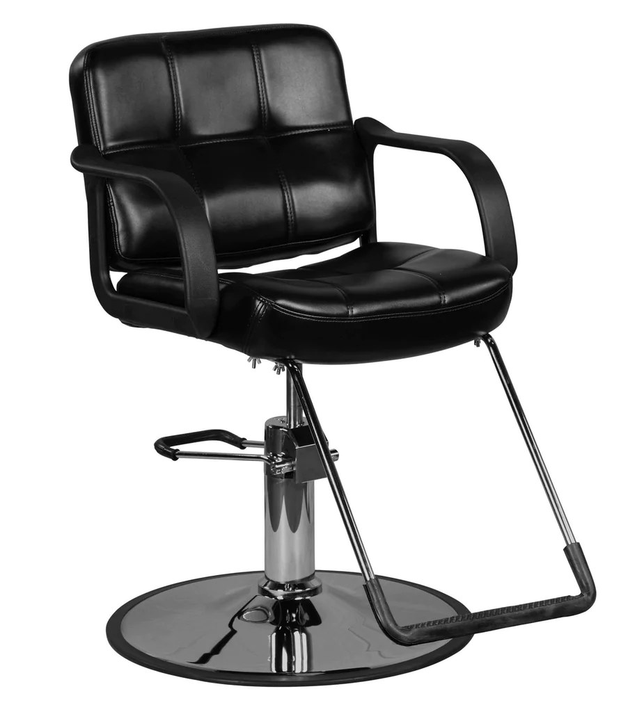 black salon chairs best office for back pain in india caine classic beauty hydraulic styling chair guys icarus default title