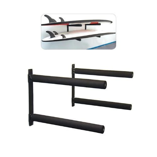 sup wall mount stack racks holds 2 sup s by ocean earth