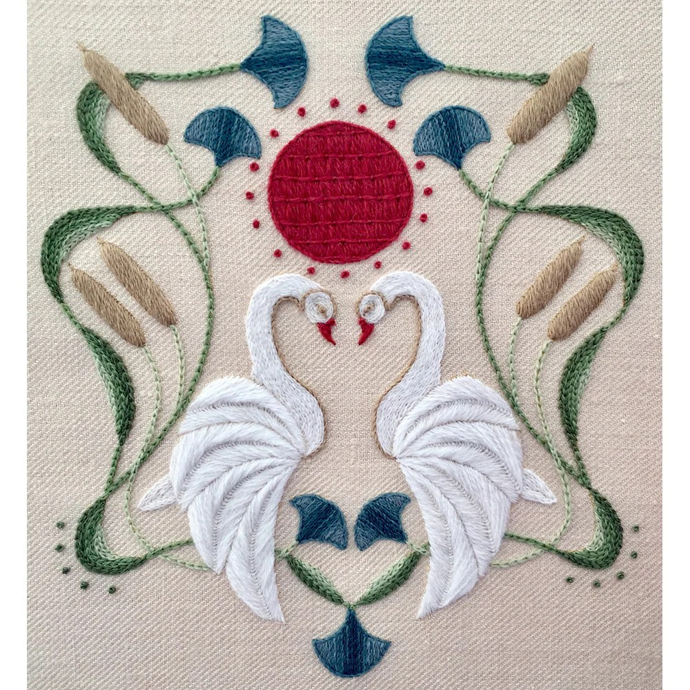 crewel embroidery kit cobs