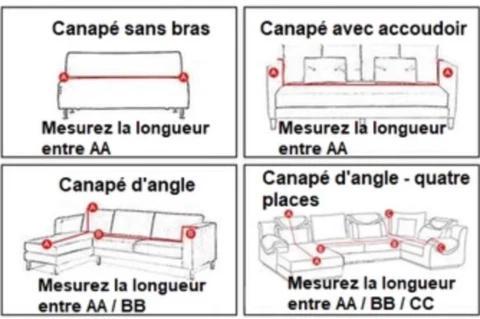 Housse De Canape Extensible 30 De Reduction Kdostore