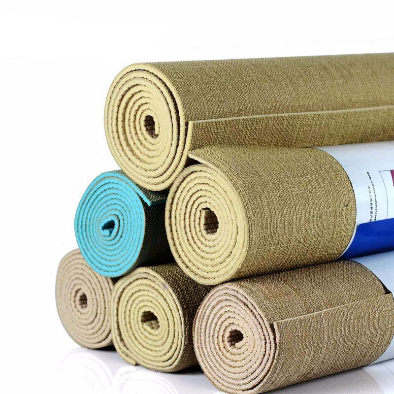tapis de yoga jute naturelle