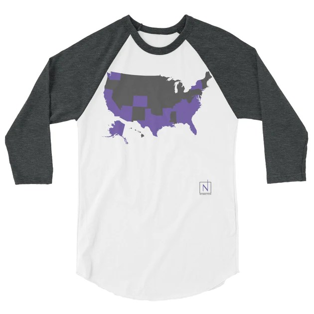 """Updated on 6/12/2020 at 4:39 pm romanticizing small towns has been an american tradition for as long as """"quaint"""" and """"charming"""" have been. Us Map States I Ve Visited Raglan Shirt No Small Plan"""