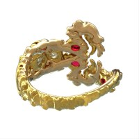 Scorpion Birthstone Ring  Polychemy