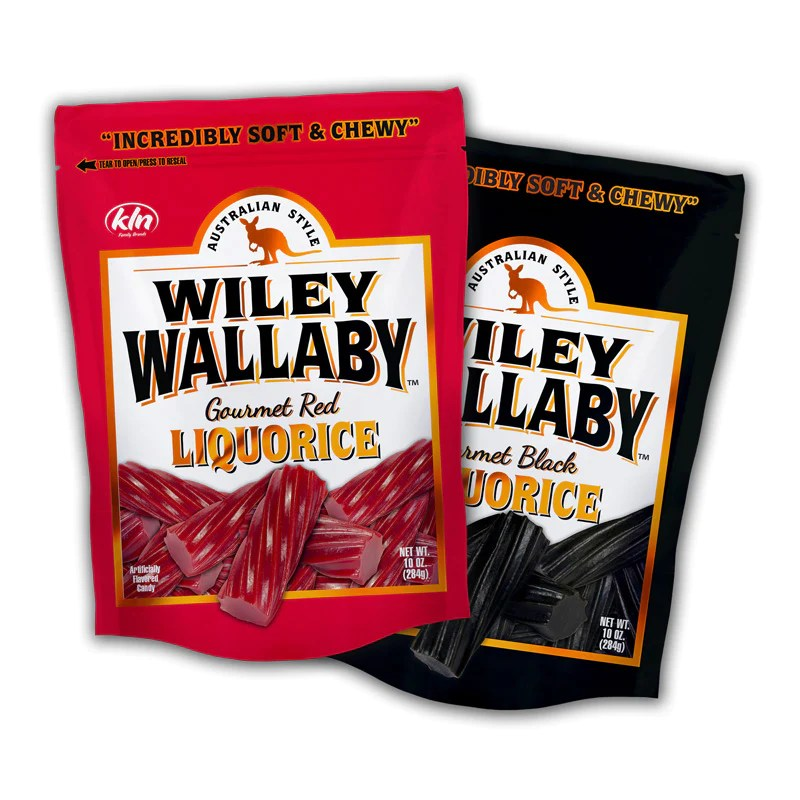 Wiley Wallaby Liquorice  Red or Black  MN Alumni Market