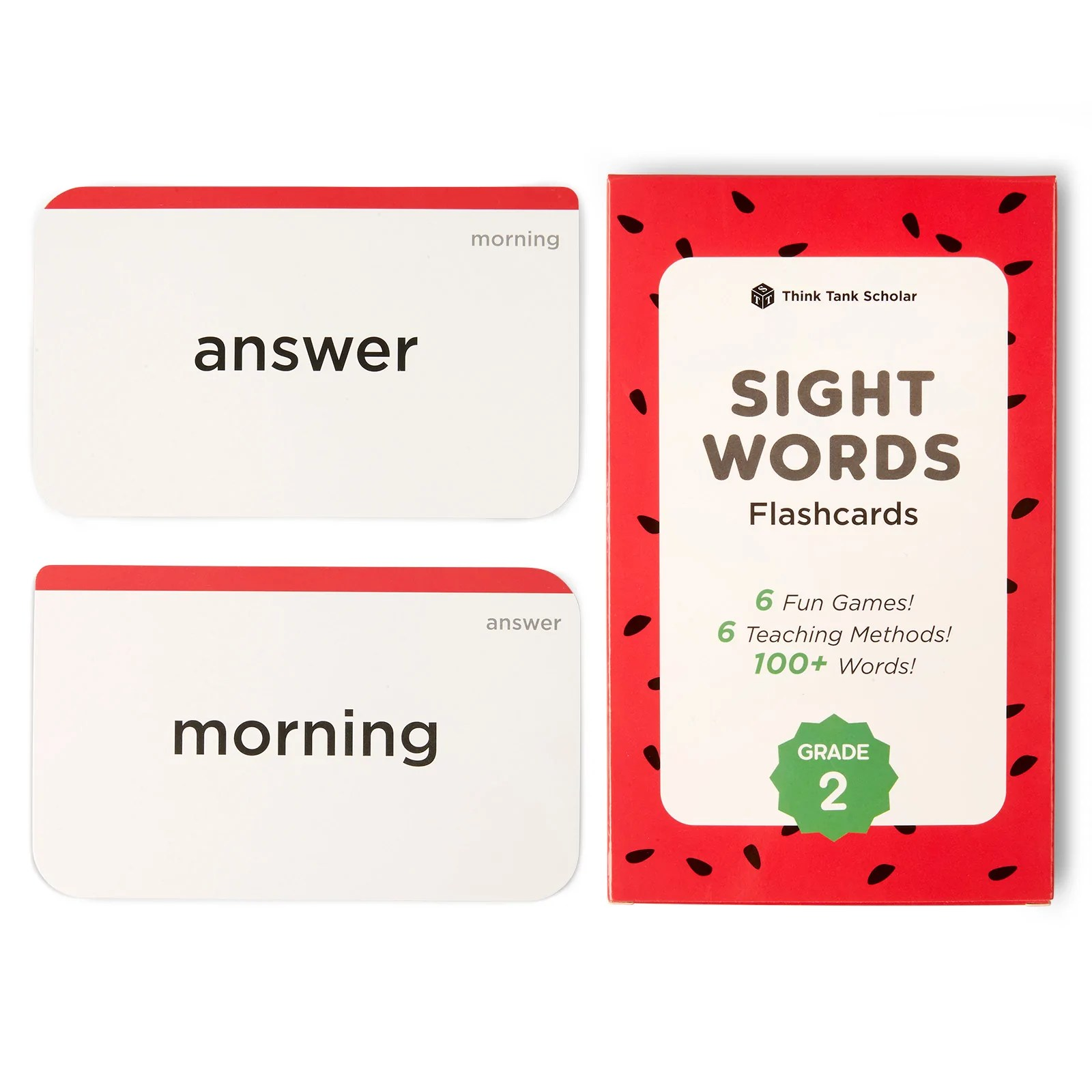 hight resolution of Second Grade Dolch \u0026 Fry Sight Words Flash Cards (2nd Grade)   Think Tank  Scholar