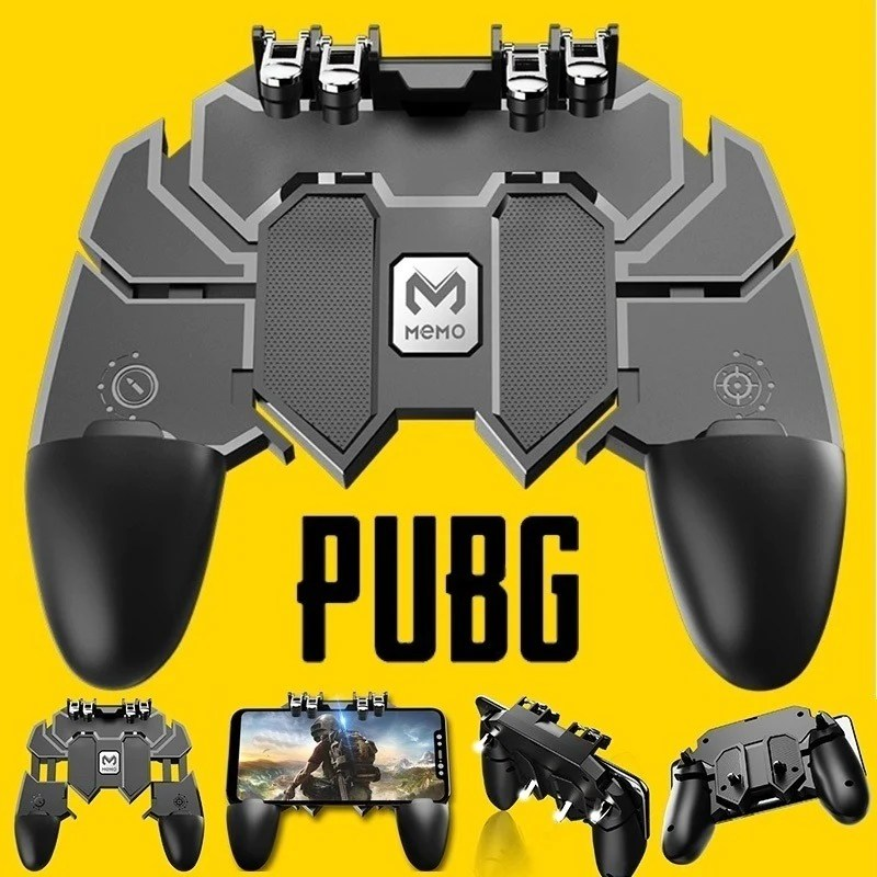 AK66 Six Finger All-in-One Mobile Game Controller for PUBG | Rhizmall.pk –  RHIZMALL.PK Online Shopping Store.