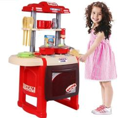Full Kitchen Set Raymour And Flanigan Sets Simulation Plastic Toy Genuine Wooden Toys