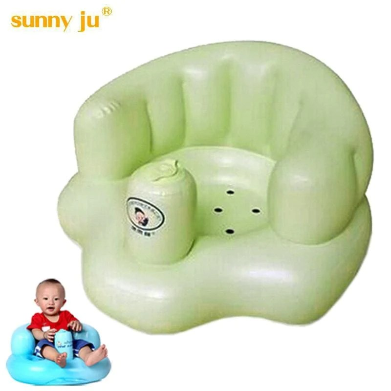 bath chair baby wheelchair you can stand up seat dining inflatable sofa pushchair portable play game