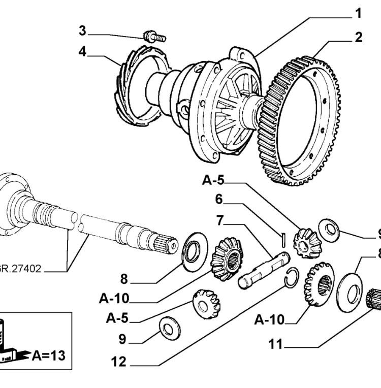 Alfa Romeo Quadrifoglio Motor Diagram