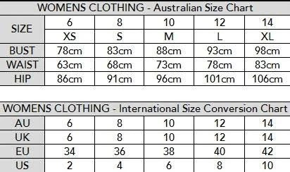 Please note the size guides are average only and do not provide actual sizing of garment can vary between brands also guide for women  hauteandsole rh