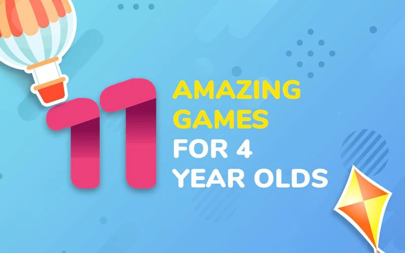 11 Amazing Games For 4 Year Olds Ezplay Indoor Playgrounds