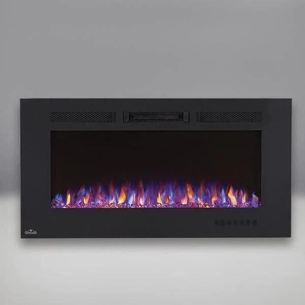 napoleon allure phantom series electric fireplace