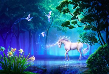 Forest Mythical Background