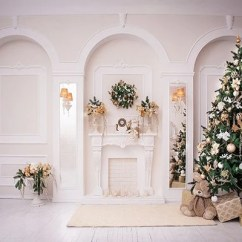 Living Room Tree Rooms With Large Area Rugs Shop Holiday Background Christmas Backdrop Whosedrop