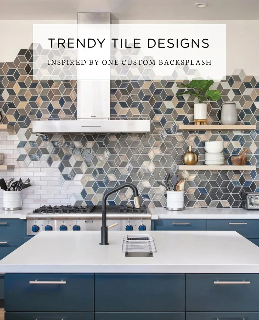 trendy tile designs inspired by one