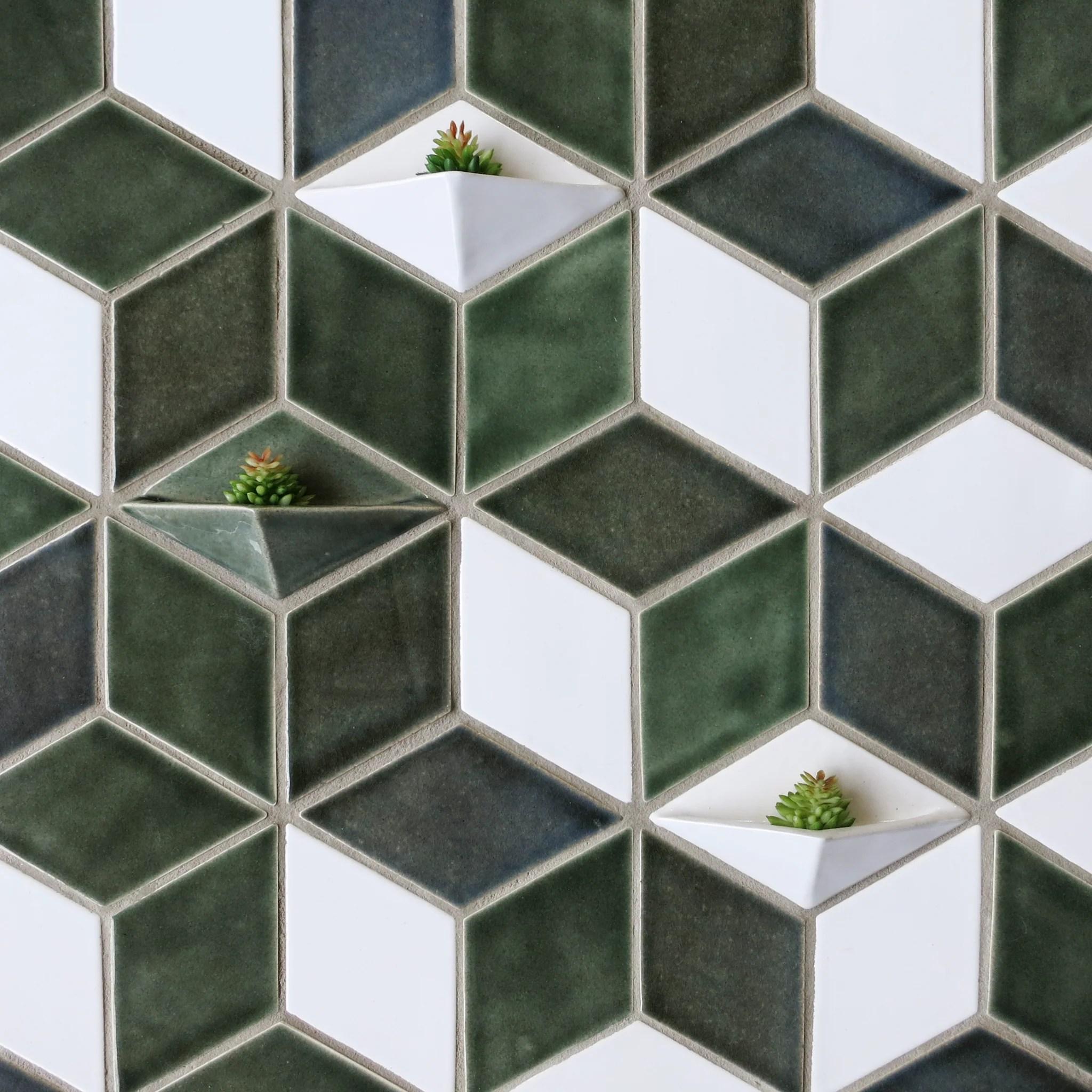 diamond floor tile design