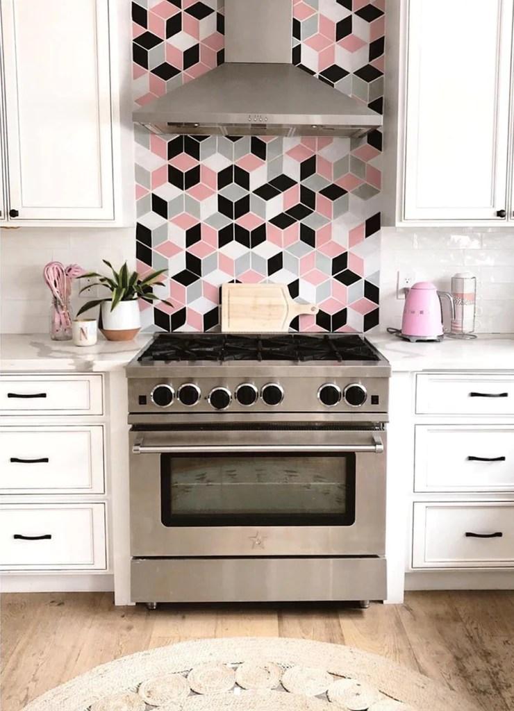 kitchen stove backsplash ideas
