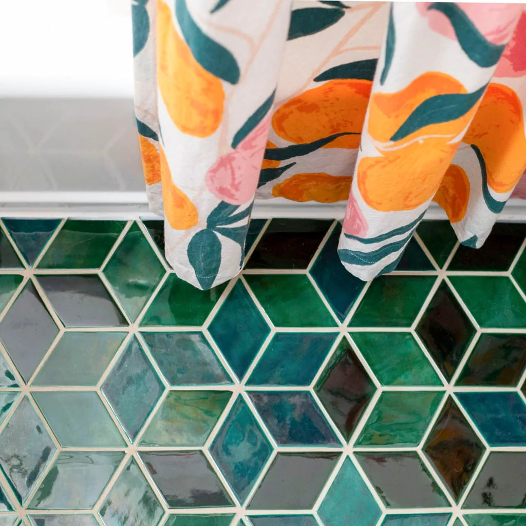 8 decorative bathroom floor tile ideas