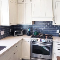 Subway Tiles In Kitchen Cabinets New Orleans Blue And Copper Tile Mercury Mosaics