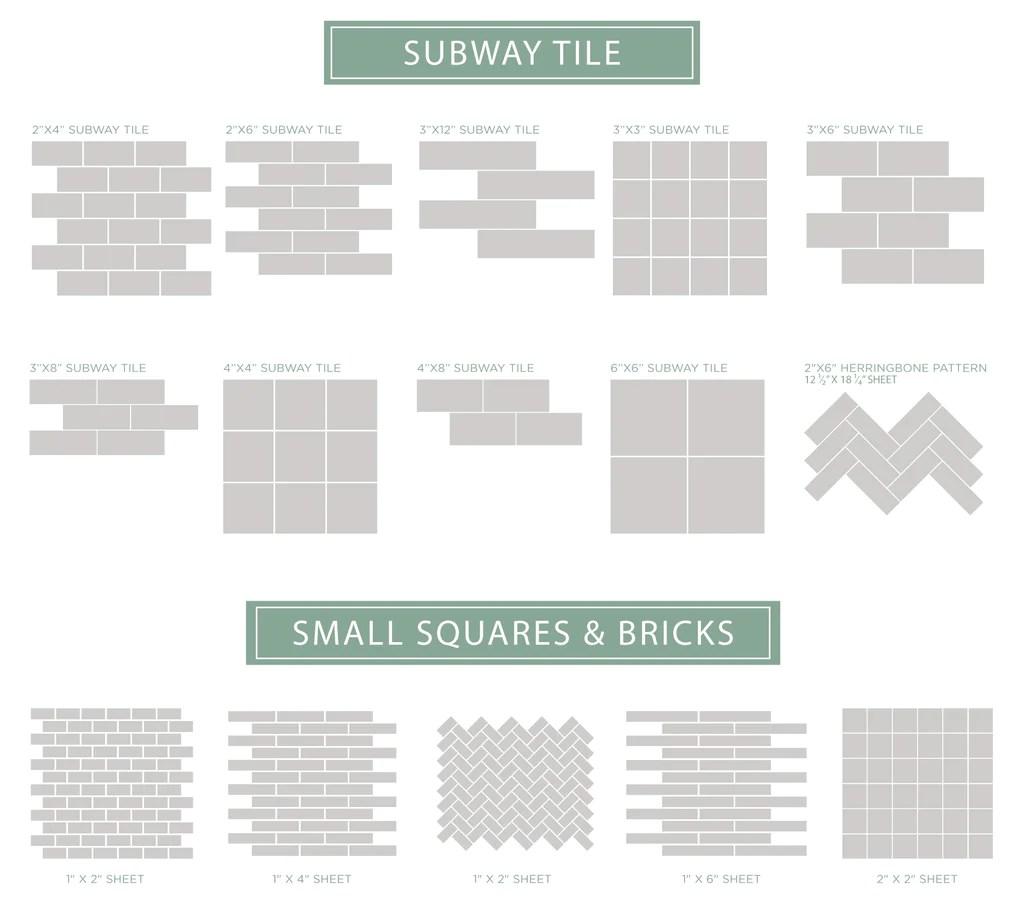 perfect subway tile color