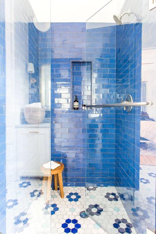 3 x8 sapphire blue subway tile blue ceramic floor tile mercury mosaics