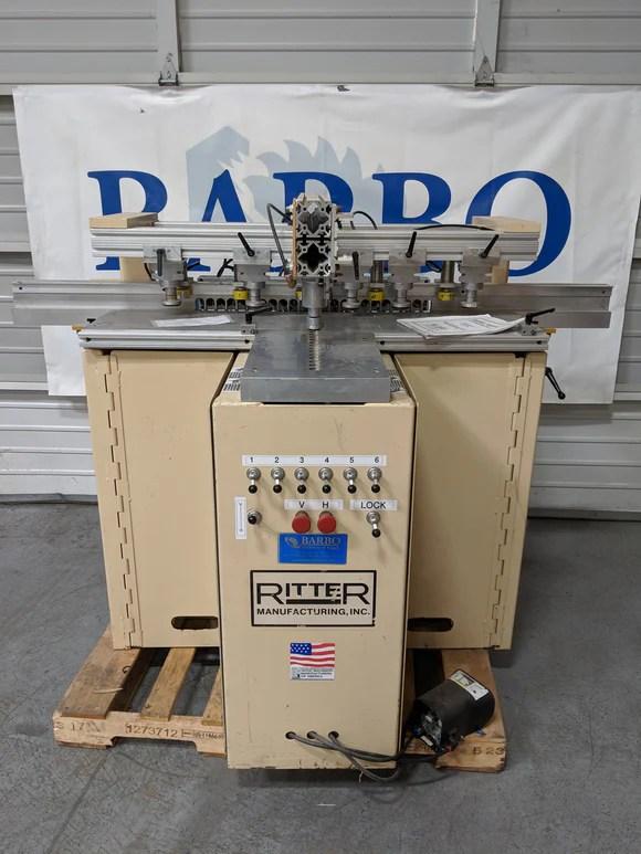 Ritter Pocket Screw Machine