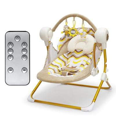 baby sleeping chair camping chairs with sunshade free ship electric swing music rocking automatic cradle basket placarders chaise