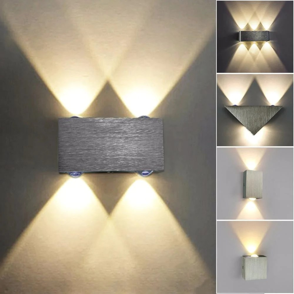 wall fixtures for living room bamboo set jjd led lamp modern sconce stair light fixture bedroom bed bedside indoor lighting