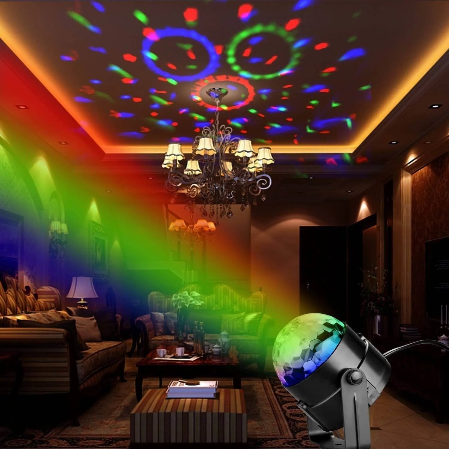Music Control Led Party Lights  Trendowner