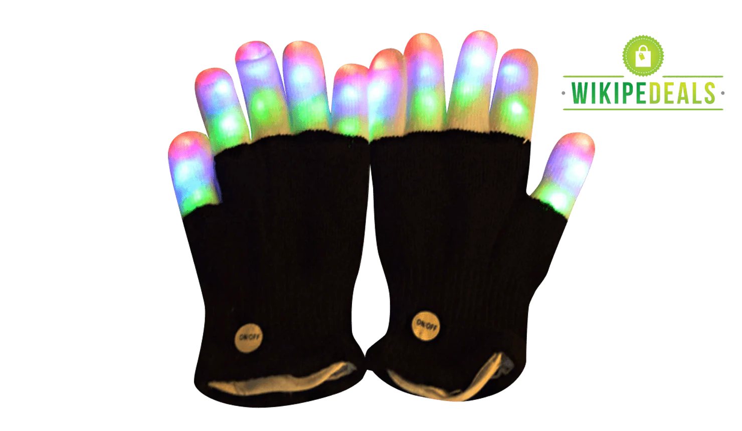 Led Flashing Party Gloves - Wikipedeals