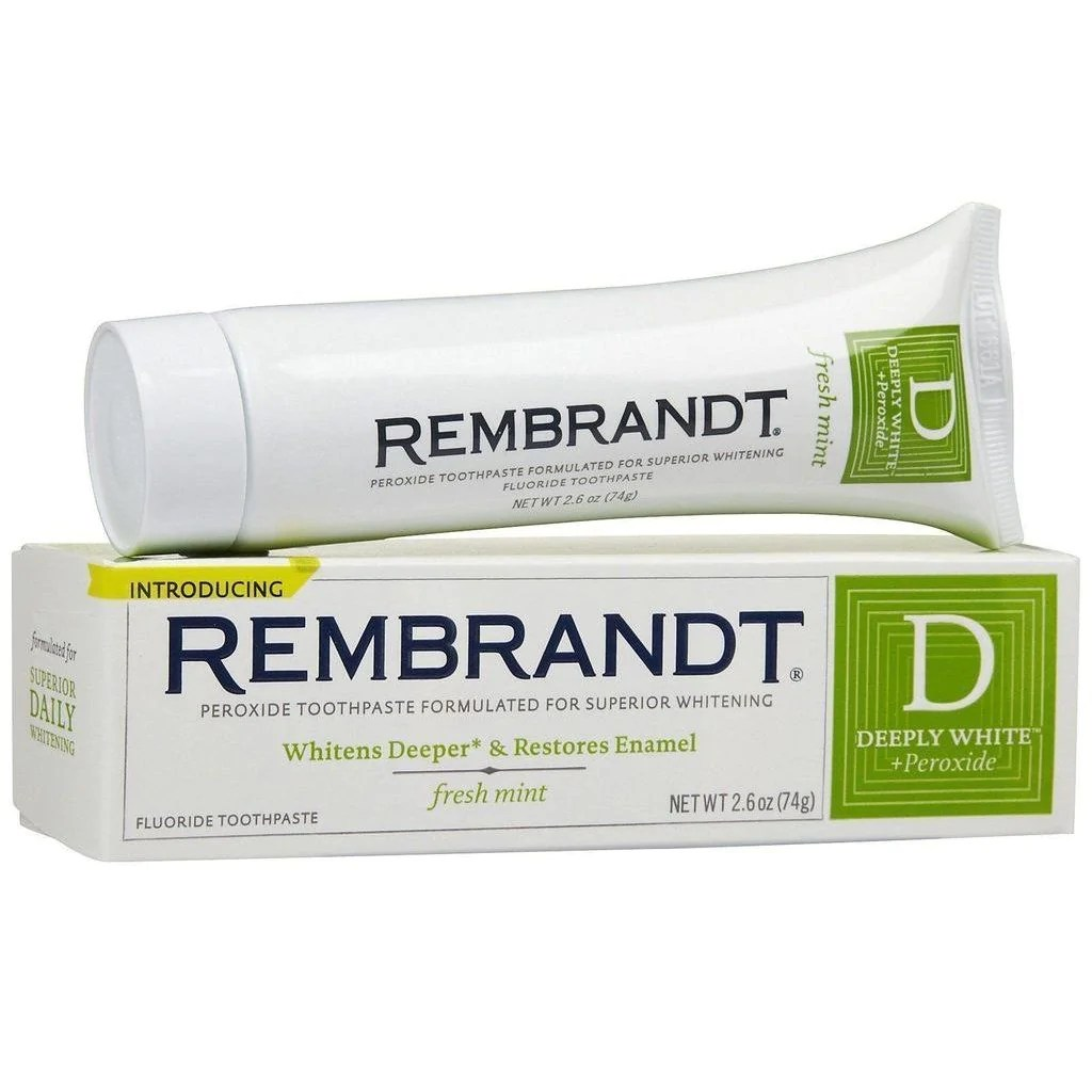 Rembrandt Deeply White Toothpaste Fresh Mint 2.60 oz