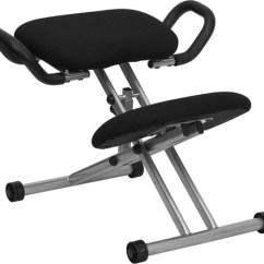 Ergonomic Chair Kneeling Posture Counter Height Arm Office Wl 1429 Gg By Flash Description