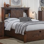 Sun Valley Rustic Timber King Bed W Headboard Footboard Storage Sui Generis Home Furniture