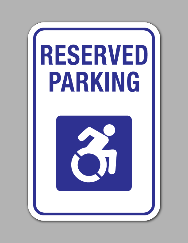 reserved handicap parking parking