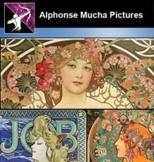 Alphonse Mucha Pictures